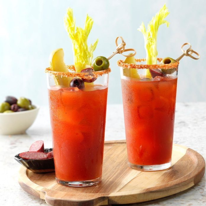 Dill bloody Mary