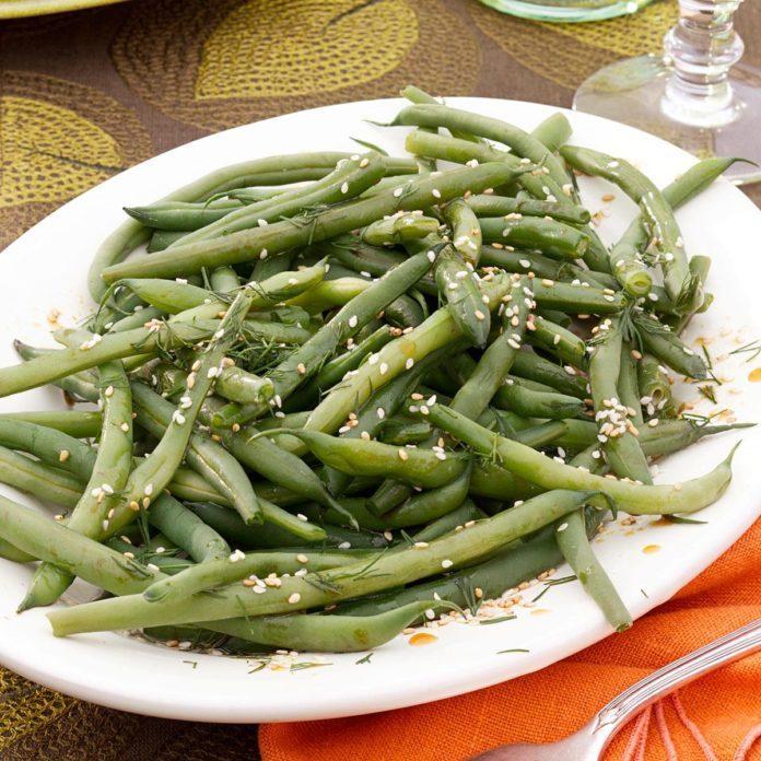 Dill Green Beans