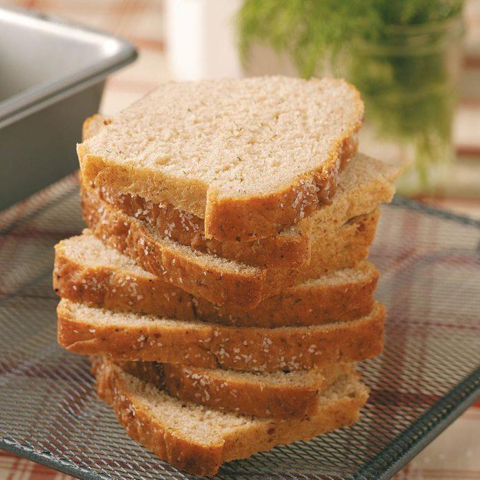 Dill Wheat Bread