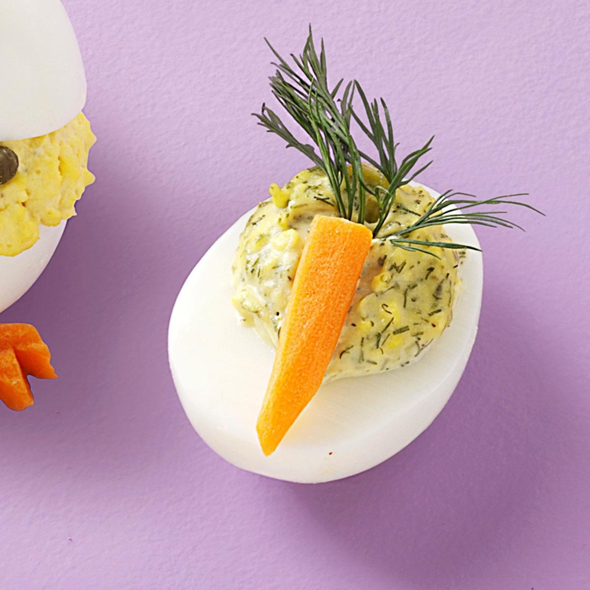 Dill-icious Deviled Eggs