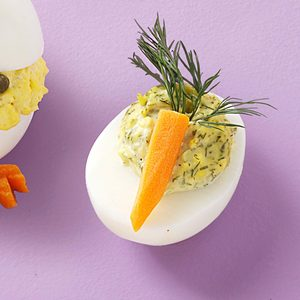 Dill-icious Deviled Eggs