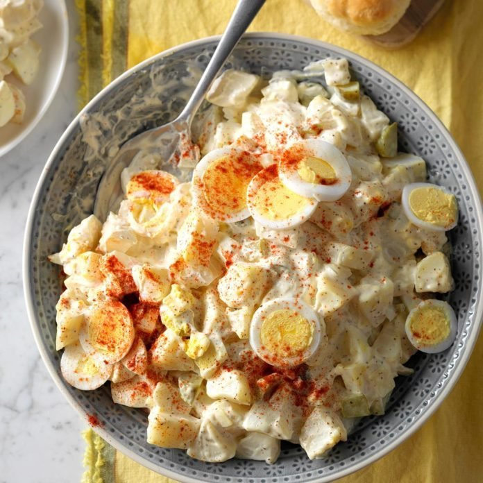 Dilly Potato & Egg Salad