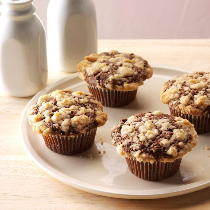 Oklahoma: Double Chocolate Banana Muffins