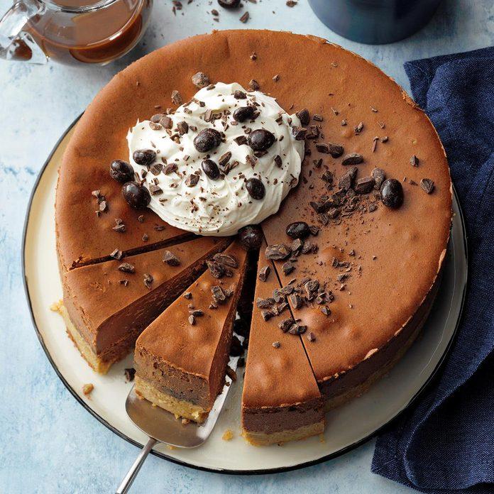 Double Chocolate Espresso Cheesecake