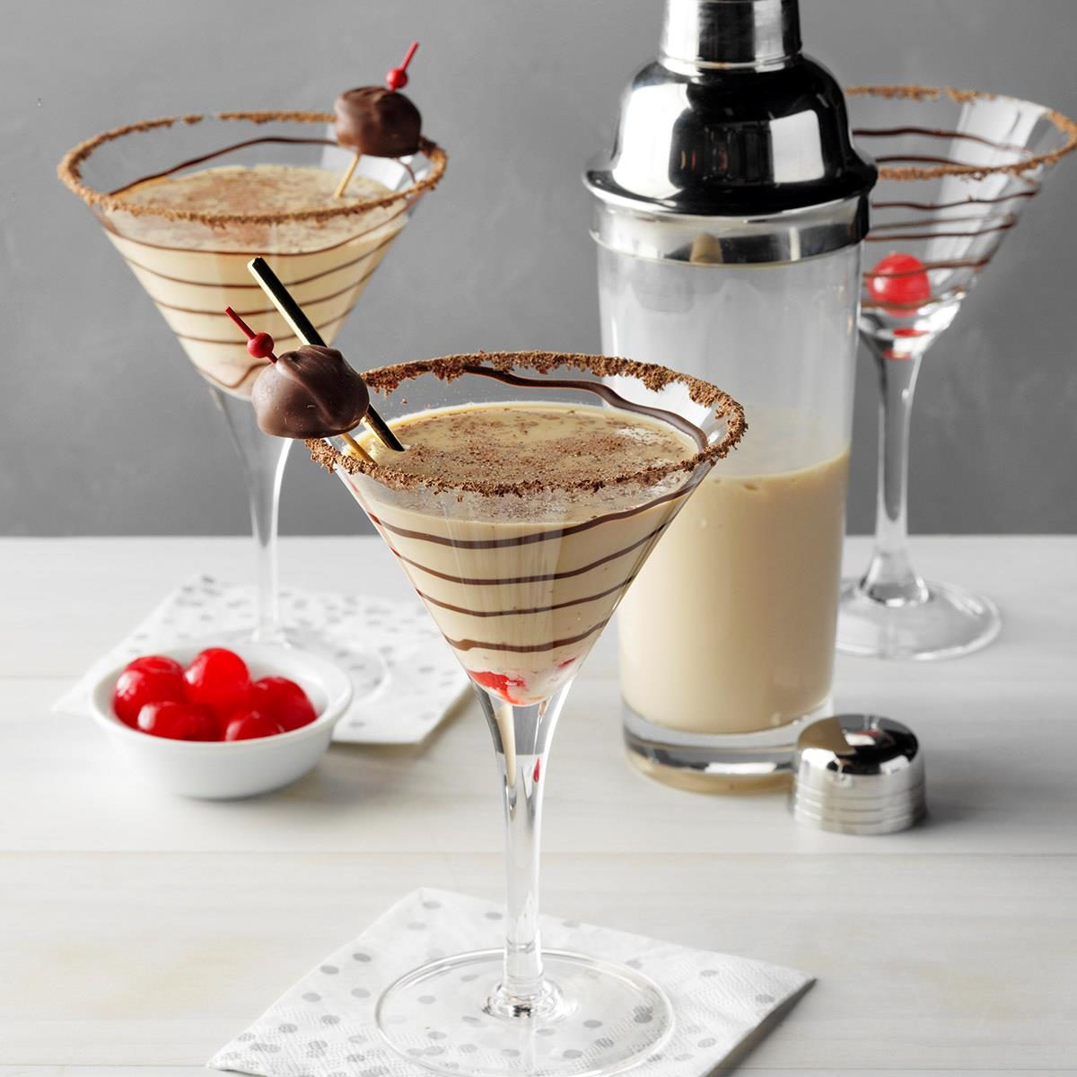 Double Chocolate Martini