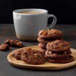 Double Chocolate Pecan Cookies