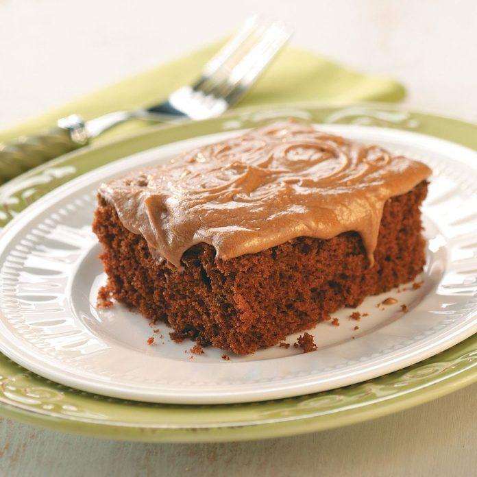 Double Chocolate Sheet Cake