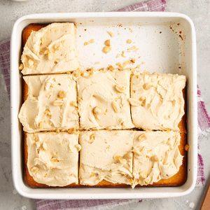 Double Peanut Butter Cake