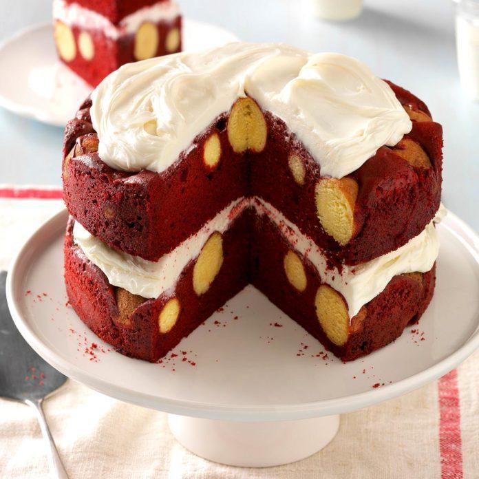 Doughnut Hole Cake