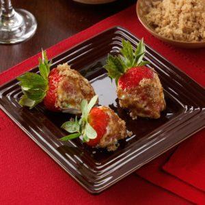 Dunked Strawberries