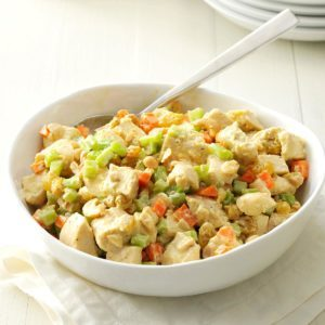 Cashew-Curry Chicken Salad