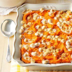 Creamy Sweet Potatoes