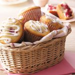 Cream Cheese Raspberry Muffins