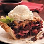 Cranberry Pear Pie