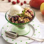 Cranberry Pear Crisp