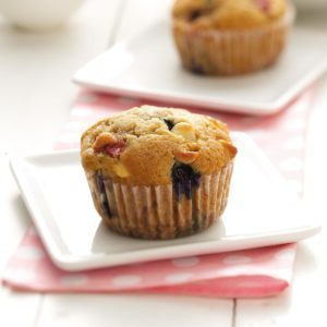 Red, White and Blue Muffins
