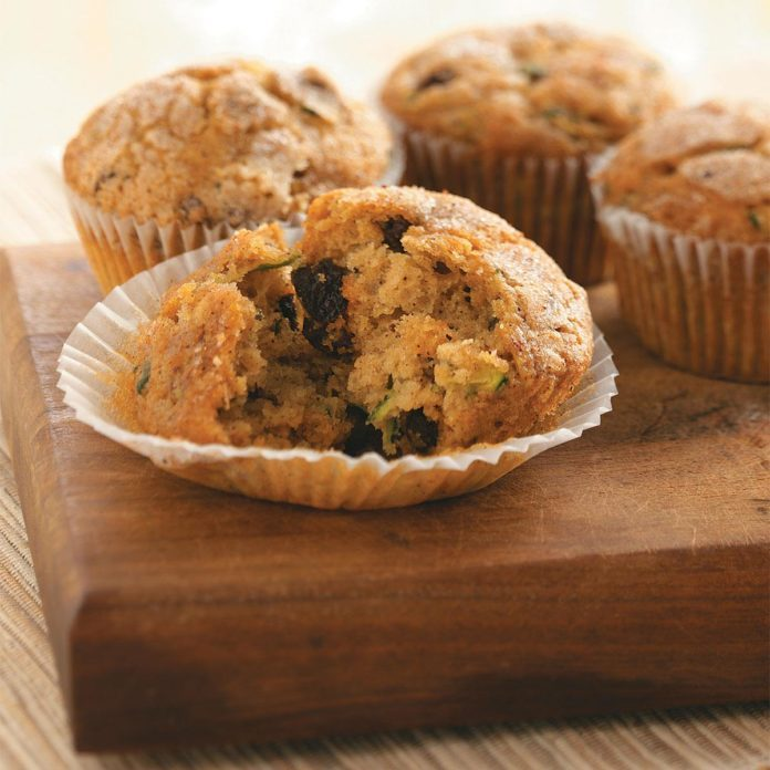 Orange Zucchini Muffins