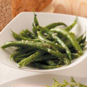Basil-Garlic Green Beans