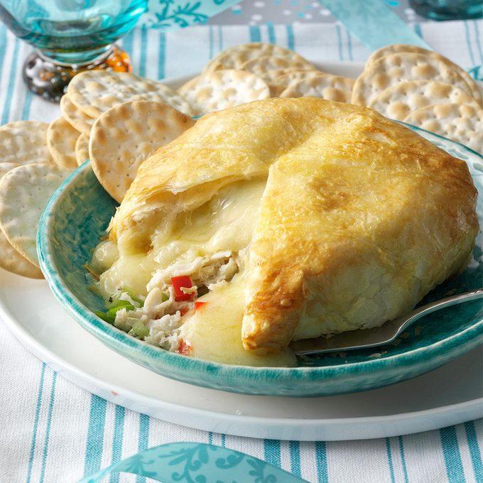 Crab-Brie Cheese Ball