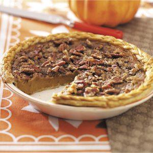 Contest-Winning Eggnog Pumpkin Pie