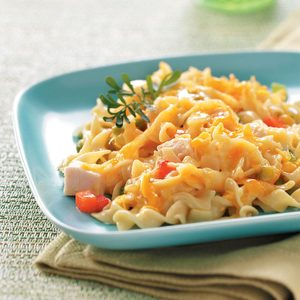 Comforting Chicken Noodle Casserole