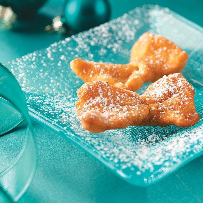 Chrusciki Bow Tie Cookies