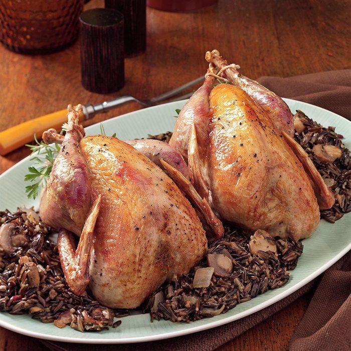 Pheasant and Wild Rice
