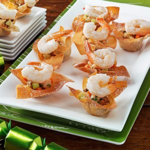 Cilantro Shrimp Cups