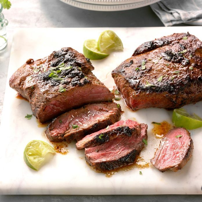 Grilled Southwest Flat Iron Steak