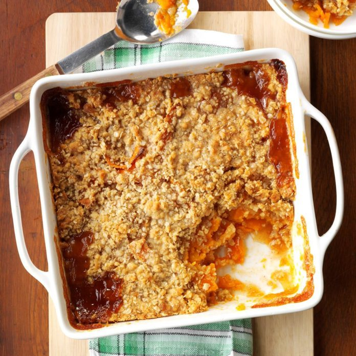 Apple and Squash Crisp