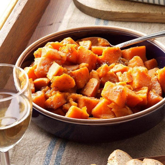 Caramel Sweet Potatoes
