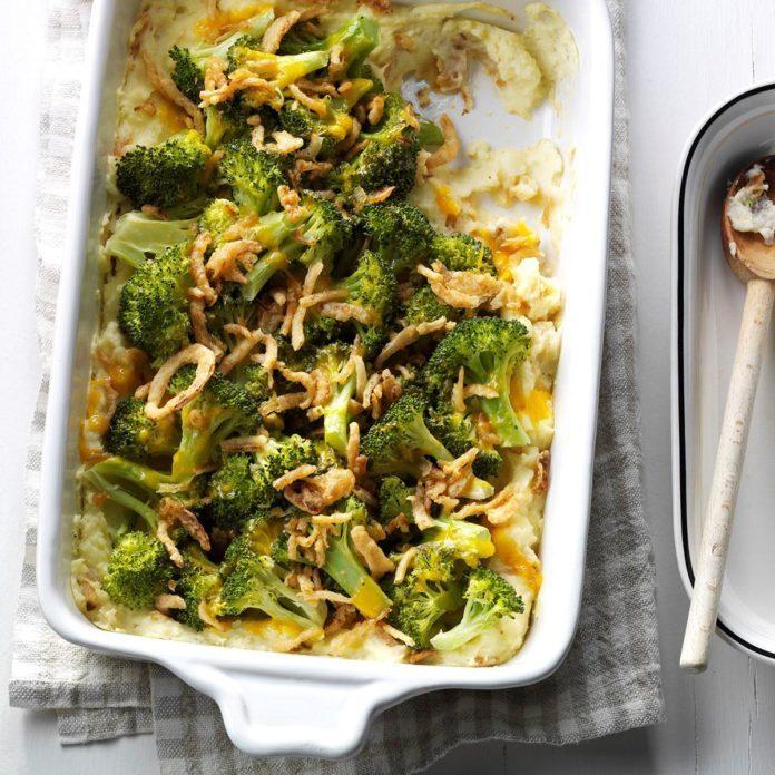 New Jersey: Broccoli Potato Supreme
