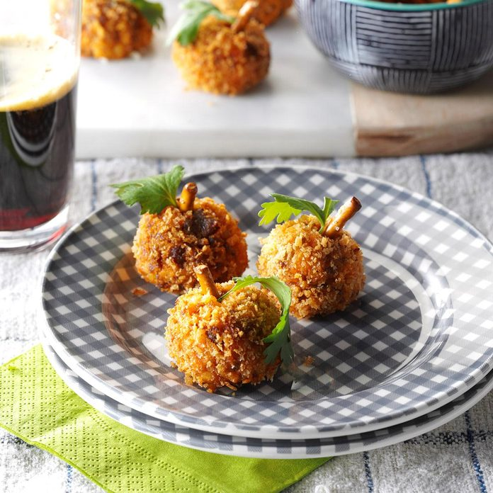 Sweet Potato & Chorizo Croquettes
