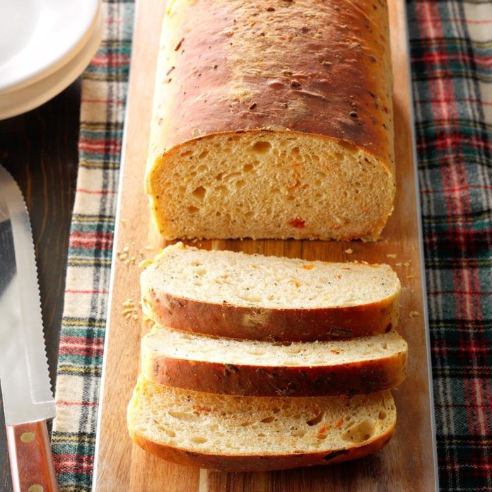 Basil Parmesan Bread
