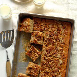 Maple Bacon Walnut Coffee Cake