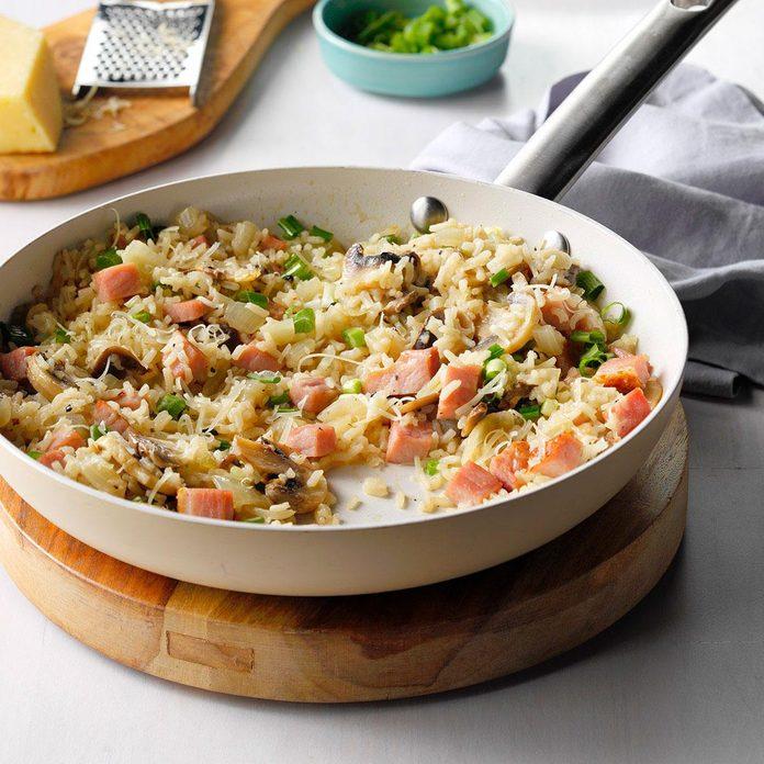 Skillet Ham & Rice