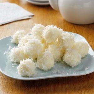 Creamy Coconut Snowballs