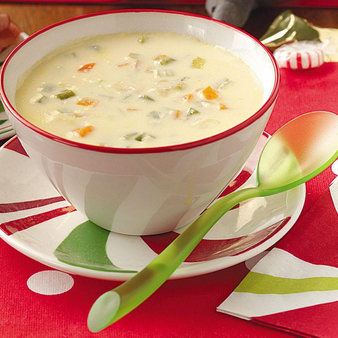 East Coast Cheese Soup