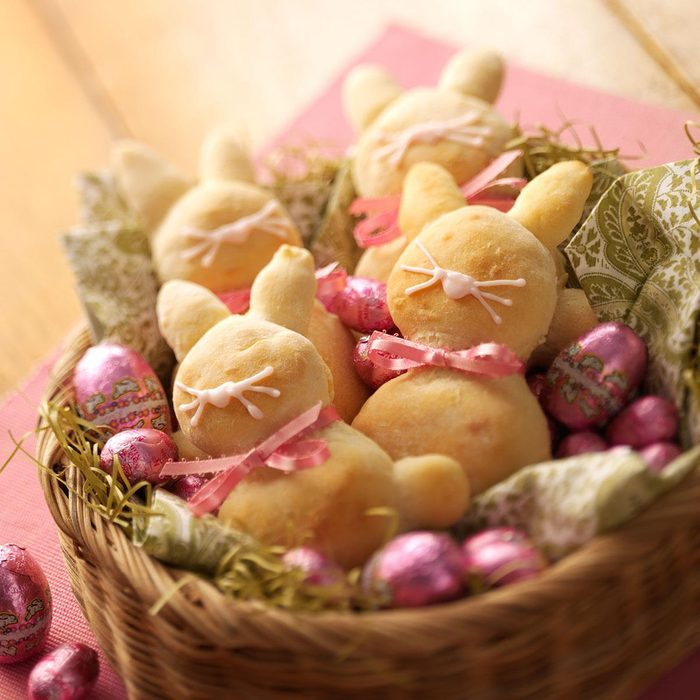 Easter Bunny Breads