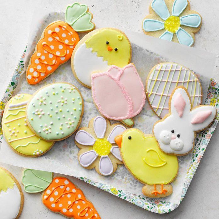 Easter Sugar Cookies