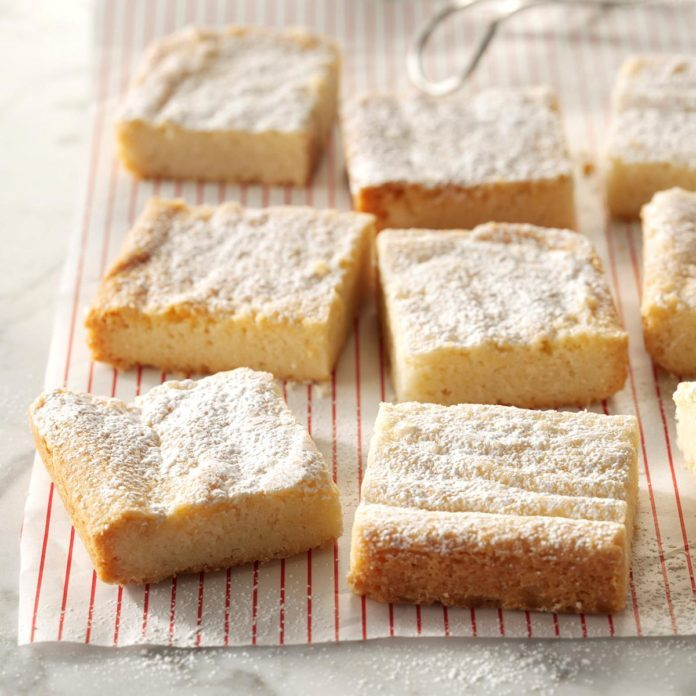 New Hampshire: Buttery 3-Ingredient Shortbread Cookies
