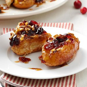Easy Cranberry-Pecan Sticky Buns