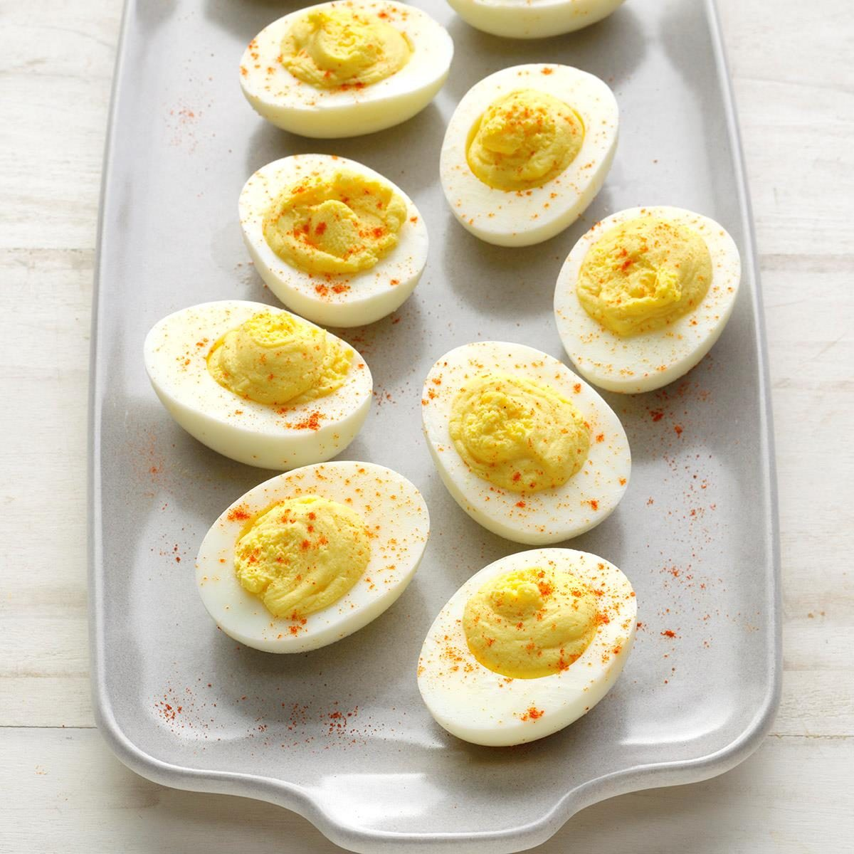 Easy Deviled Eggs Recipe How To Make It Taste Of Home