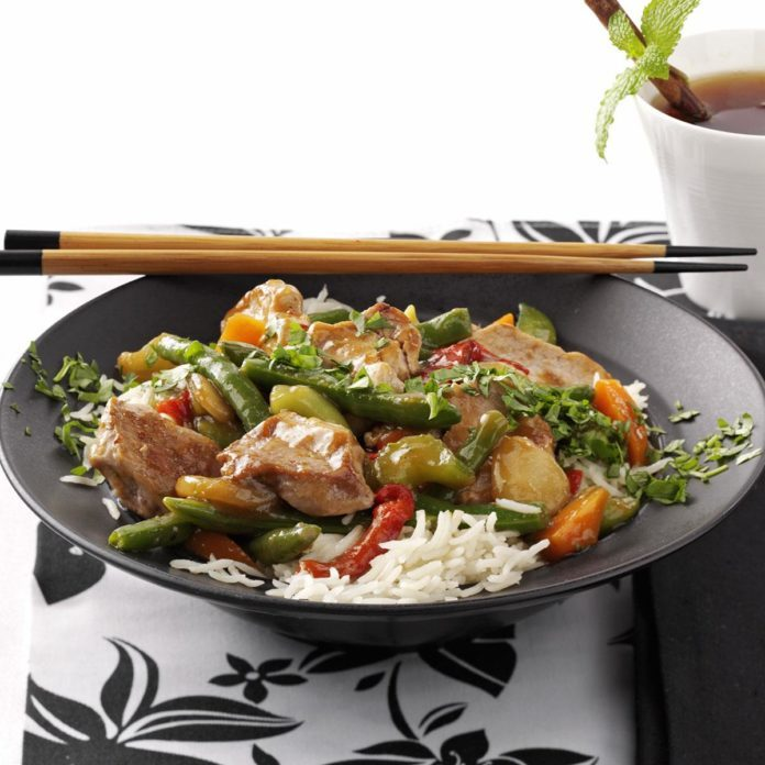 Easy Ginger Pork Stir-Fry