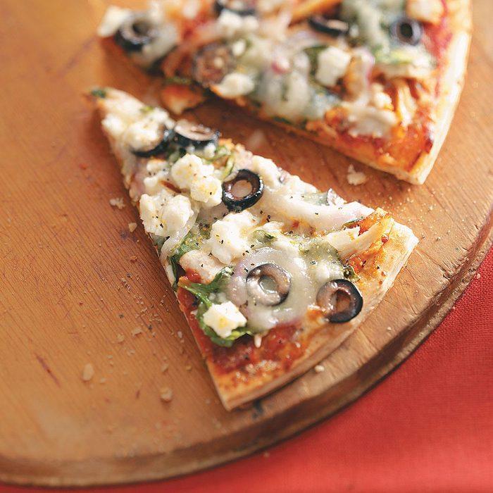Easy Greek Pizza
