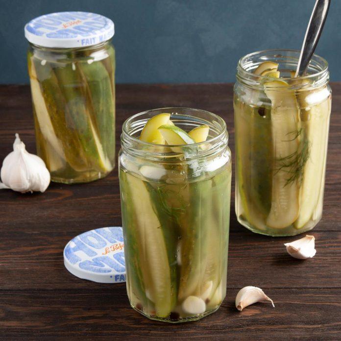 Easy Homemade Pickles
