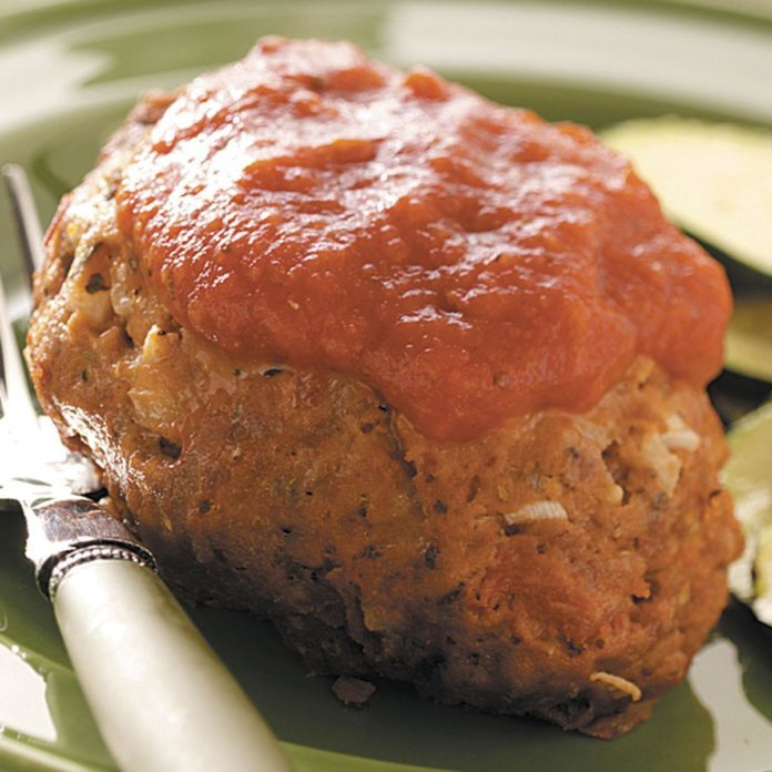 Easy Microwave Mini Meat Loaves