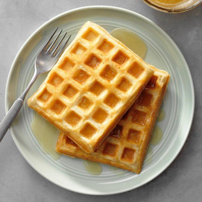 March 25: International Waffle Day