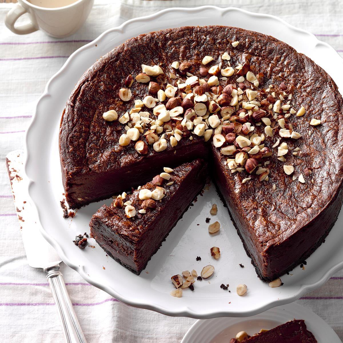 Easy Nutella Cheesecake Recipe Taste Of Home