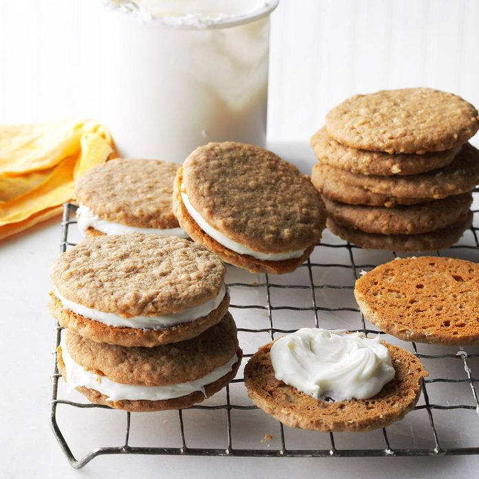 Inspired by: Little Debbie Oatmeal Creme Pies